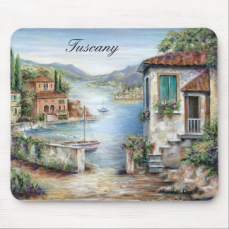 Tuscan Villas By The Lake Mouse Mat