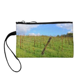 Tuscan Vineyard Change Purse