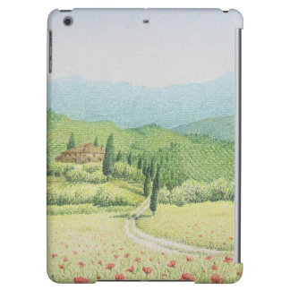 Tuscan Vineyards, Italy in Pastel iPad Air Case