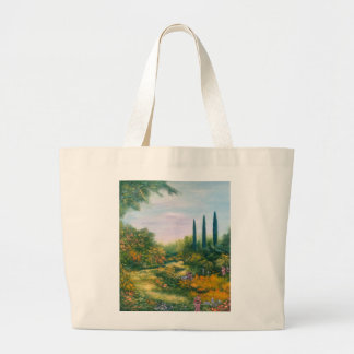 Tuscany Atmosphere 1996 Large Tote Bag