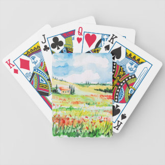 Tuscany Bicycle Playing Cards