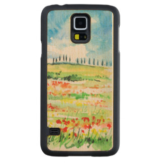 Tuscany Carved Maple Galaxy S5 Case