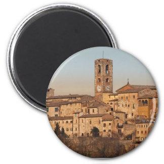 Tuscany - Colle di Val d'Elsa 6 Cm Round Magnet