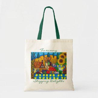 Tuscany Delights Shopping Bag by Lisa Lorenz