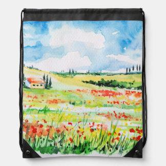 Tuscany Drawstring Bag