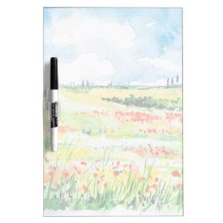 Tuscany Dry Erase Board