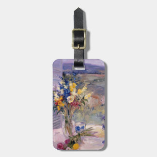 Tuscany Floral Luggage Tag