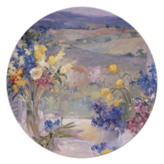 Tuscany Floral Plate