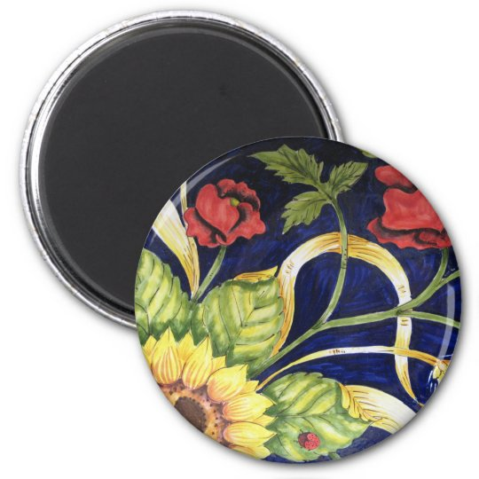 Tuscany Flowers 2 MAGNET