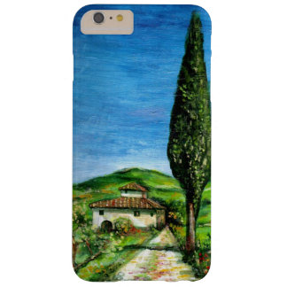 TUSCANY LANDSCAPE / OLD FARMHOUSE IN CHIANTI BARELY THERE iPhone 6 PLUS CASE