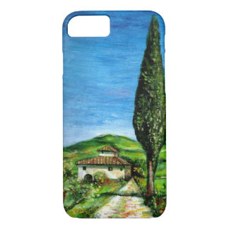 TUSCANY LANDSCAPE / OLD FARMHOUSE IN CHIANTI iPhone 7 CASE