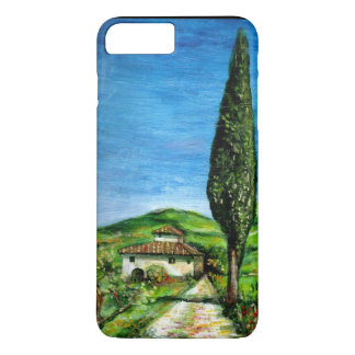 TUSCANY LANDSCAPE / OLD FARMHOUSE IN CHIANTI iPhone 7 PLUS CASE