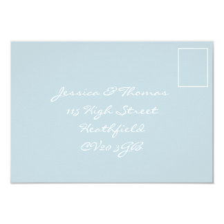 Tuscany Meditteranean Style RSVP Card 9 Cm X 13 Cm Invitation Card