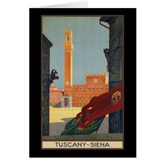 Tuscany Siena Greeting Card