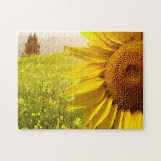 Tuscany Sunflowers Jigsaw Puzzle