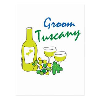 Tuscany Weddings, Groom Postcard
