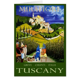 TUSCANY WINE CARD