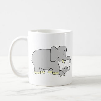 Tusk Love World's Best Mum! Customizable Mug