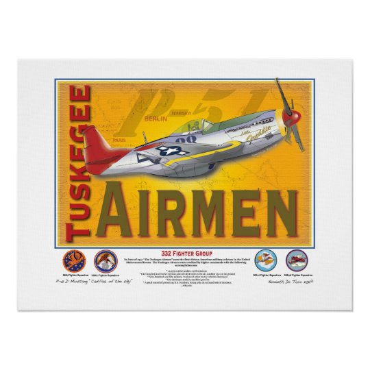 Tuskegee Airman Poster