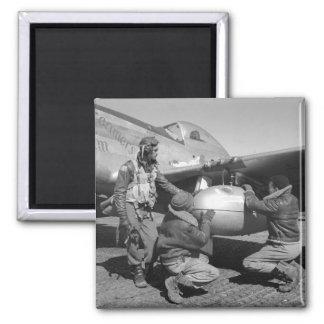 Tuskegee Airmen, 1945 Fridge Magnets