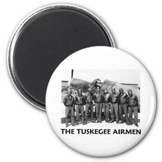 Tuskegee Airmen 6 Cm Round Magnet