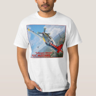 Tuskegee Airmen P-51 Mustang T Shirts