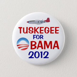 Tuskegee for Obama 6 Cm Round Badge