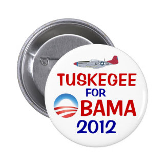 Tuskegee for Obama Pin