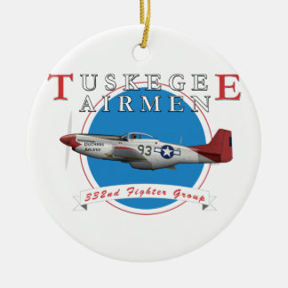 Tuskegee Red Tails Christmas Ornament