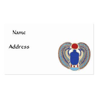 Tutankhamon Hieroglyph Business Card Template