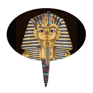 Tutankhamon's Golden Mask Cake Pick