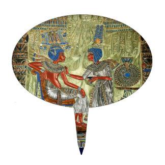 Tutankhamon's Throne Cake Toppers
