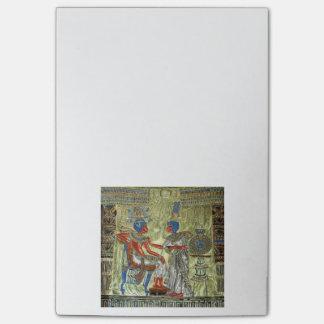 Tutankhamon's Throne Post-it Notes