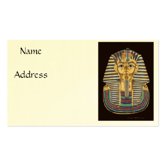 Tutankhamon's Golden Mask Pack Of Standard Business Cards