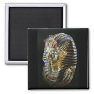 Tutankhamon's Golden Mask Square Magnet