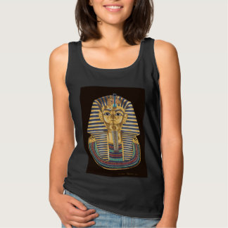 Tutankhamon's Golden Mask Tank Top