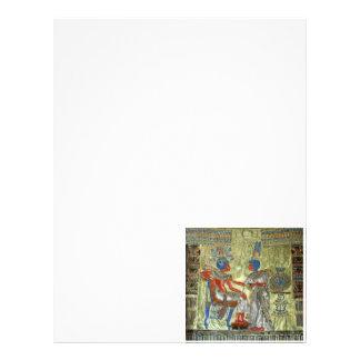Tutankhamon's Throne 21.5 Cm X 28 Cm Flyer