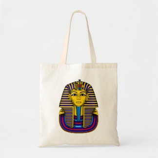 Tutankhamun Burial Mask Vector Illustration Tote Bag
