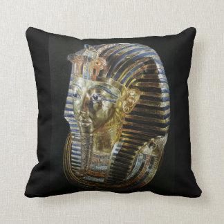 Tutankhamun's Golden Mask Cushion