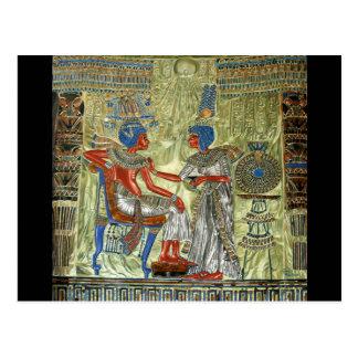 Tutankhamun s Throne Postcard