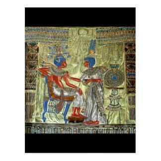 Tutankhamun s Throne Postcards
