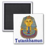 Tutankhamun Square Magnet