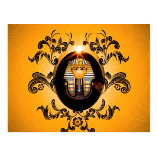 Tutankhamun, the agyptische pharaoh post cards