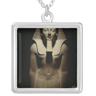 Tuthmosis III Silver Plated Necklace