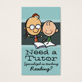 Tutor.Tutoring.Teacher.Learning Specialist.gr Business Card