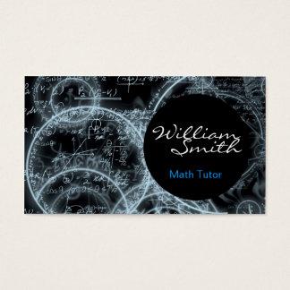Tutorial Math Business Card