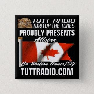 Tutt Radio Allstar's Button