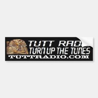Tutt Radio Bumper Sticker