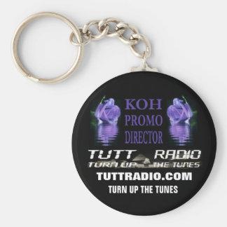 Tutt Radio Koh Keychain