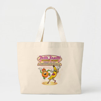Tutti Frutti Dance Camp Large Tote Bag